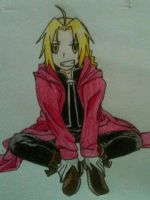 edward elric by Shirnesse