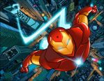Invincible Iron man by astrogus