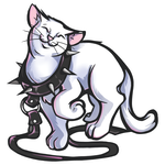 Bdsm kitty - leash by kevintheradioguy