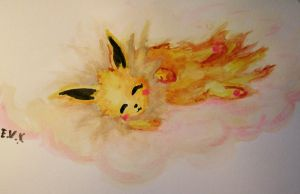 Jolteon by KiraTakuto