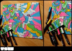 posca customisation by croustisbate