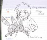 Gary + Umbreon doodle by stardroidjean