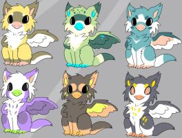Simply grifin adoptables by Pand-ASS