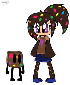 Cosmic Brownie in Human Form! by PUECA648000