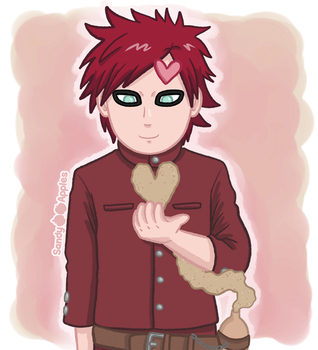 Gaara - For You (Animated!) by Sandy--Apples
