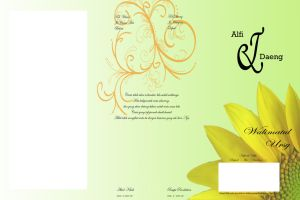 project wedding card by daeng