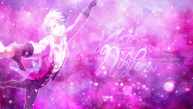 Victor Nikiforov -Wallpaper- by BatrixSlayer