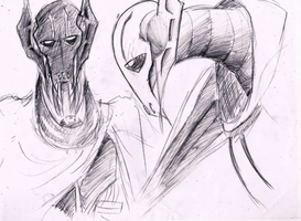 Grievous sketchies by theREDspy