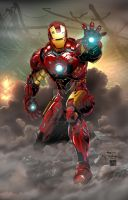 Iron Man by jasonbaroody