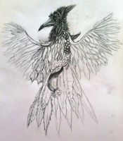 Work In Progress: The Natural Phoenix by gearsGlorified
