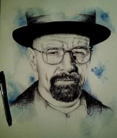 Mr Heisenberg finished by IamLesFleurs