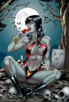 Vampirella - Colored by eHillustrations