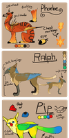 The Griffin Gang Reference Sheet by dandypandy12