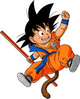 Dragon Ball - Kid Goku 14 - Dragon Box by superjmanplay2