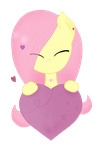 Flutershy loves you! by VioletV