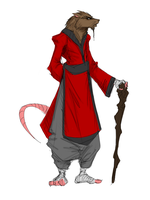 Splinter by Sketchydeez