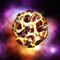 Exploding Planet by Renown