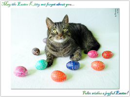 Felix wishes a joyful Easter! by xFelixTheCat