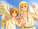 Italy and Germania by Lolzeeh