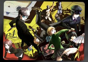 Persona 4 Wallpaper by luthorne