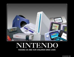 Demotivational Poster: Nintendo by RockyToonz93
