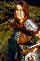 Aela the Huntress III by o0shokei0o