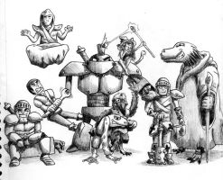 Our DnD Group Photo by pippin1178