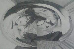 drawing, untitled by artnefo