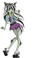 Monster High OC: Kelsie Nix by holhez21