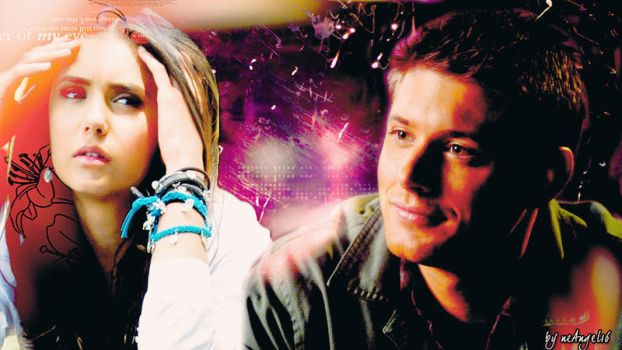Elena and Dean by neangel16