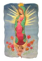 Virgen de Guadalupe by Kimi-mo