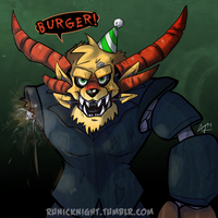 Five Nights At Freddy's Charr by RunicKnight