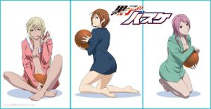 KnB: Girls by Sideburn004