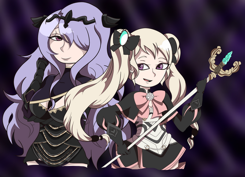 Nohrian Sisters by 1hundredknights