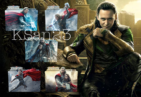 Thor 2 Packaged Icons by KSan23