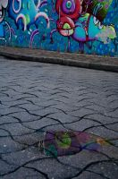 grafitti reflection. by chocolateXtherapy