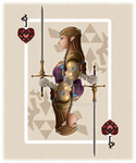 Zelda playing card by Know-Kname