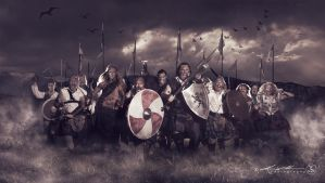 Clan Gunn - The Charge by ProcessedPixels