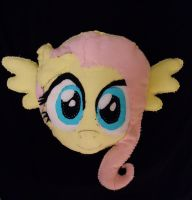 1st Fluttershy plush pillow by Animal-Amans
