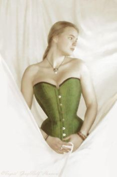 Longing - Electra corset by Illahie