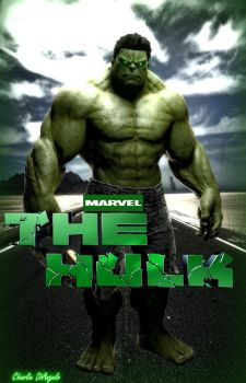 The Hulk  by CharlesDiAngelo