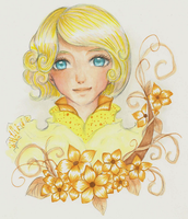 Yellow Bloom by aqualin09