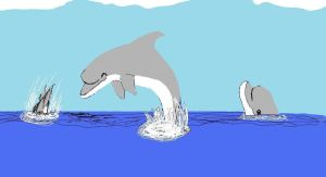 Dolphins by JadeDolphin22