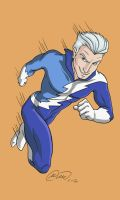 Q is for Quicksilver by jillybean200x
