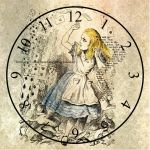 Alice Clock by TeapotMysteries