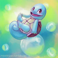 Squirtle by RebeccaFrank