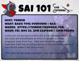SAI 101 - Live Panel by Temrin