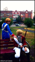 Hetalia Cosplay: Stand by Me by CosplayzRus