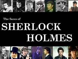 The faces of Sherlock Holmes by TheMorlock