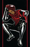 Miles Morales is SPIDER MAN by NikolasDraperIvey